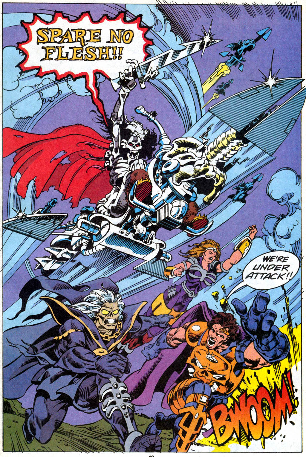 Skeleton Warriors Issue #1 #1 - English 15