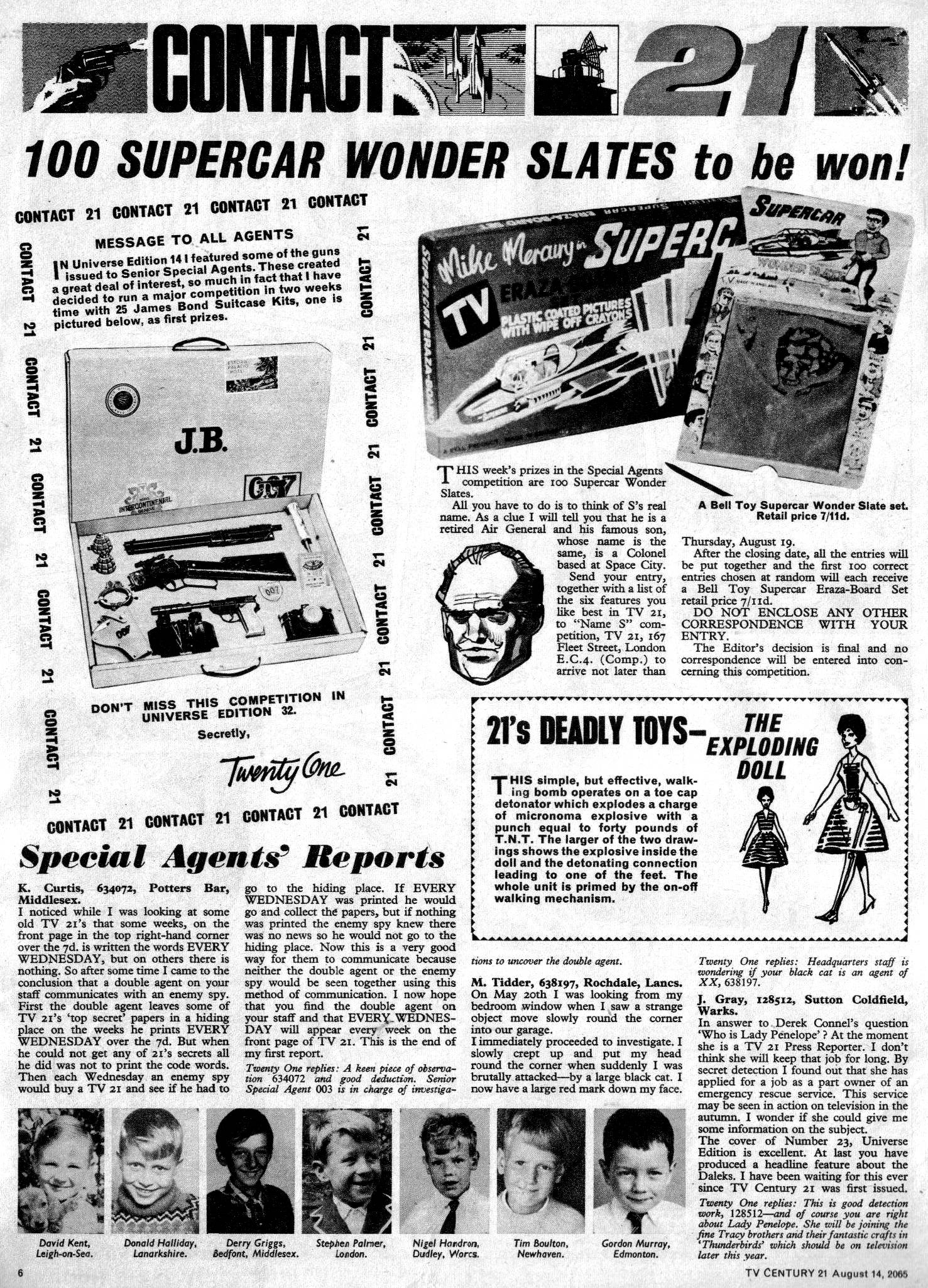 Read online TV Century 21 (TV 21) comic -  Issue #30 - 6