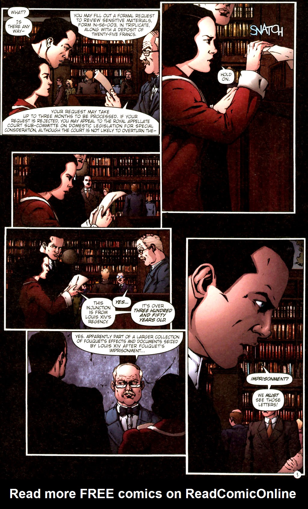Read online Rex Mundi comic -  Issue #9 - 7