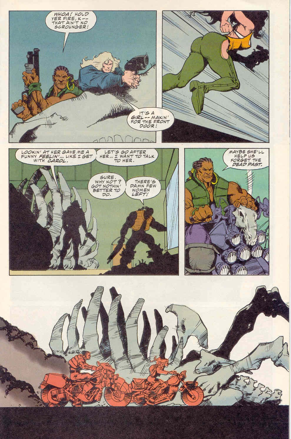 Read online Kamandi: At Earth's End comic -  Issue #2 - 12