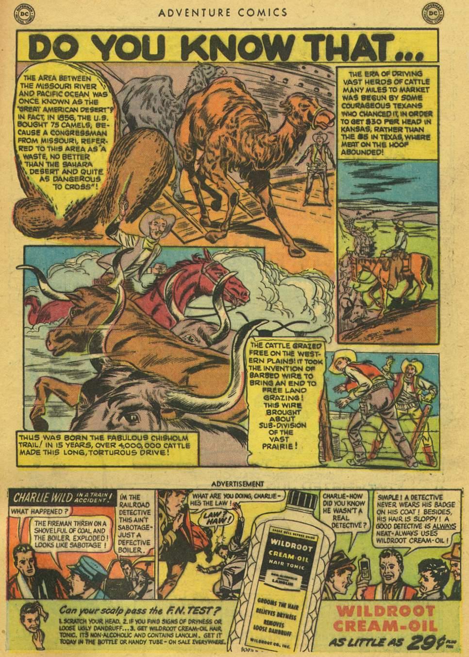 Read online Adventure Comics (1938) comic -  Issue #164 - 49