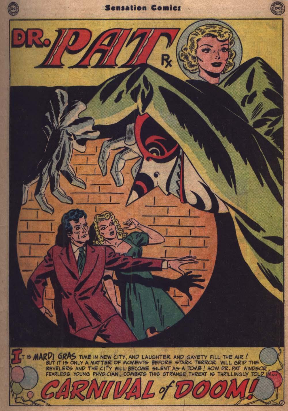 Read online Sensation (Mystery) Comics comic -  Issue #103 - 22