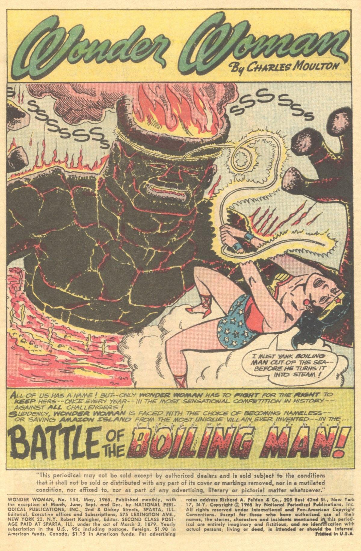 Read online Wonder Woman (1942) comic -  Issue #154 - 3