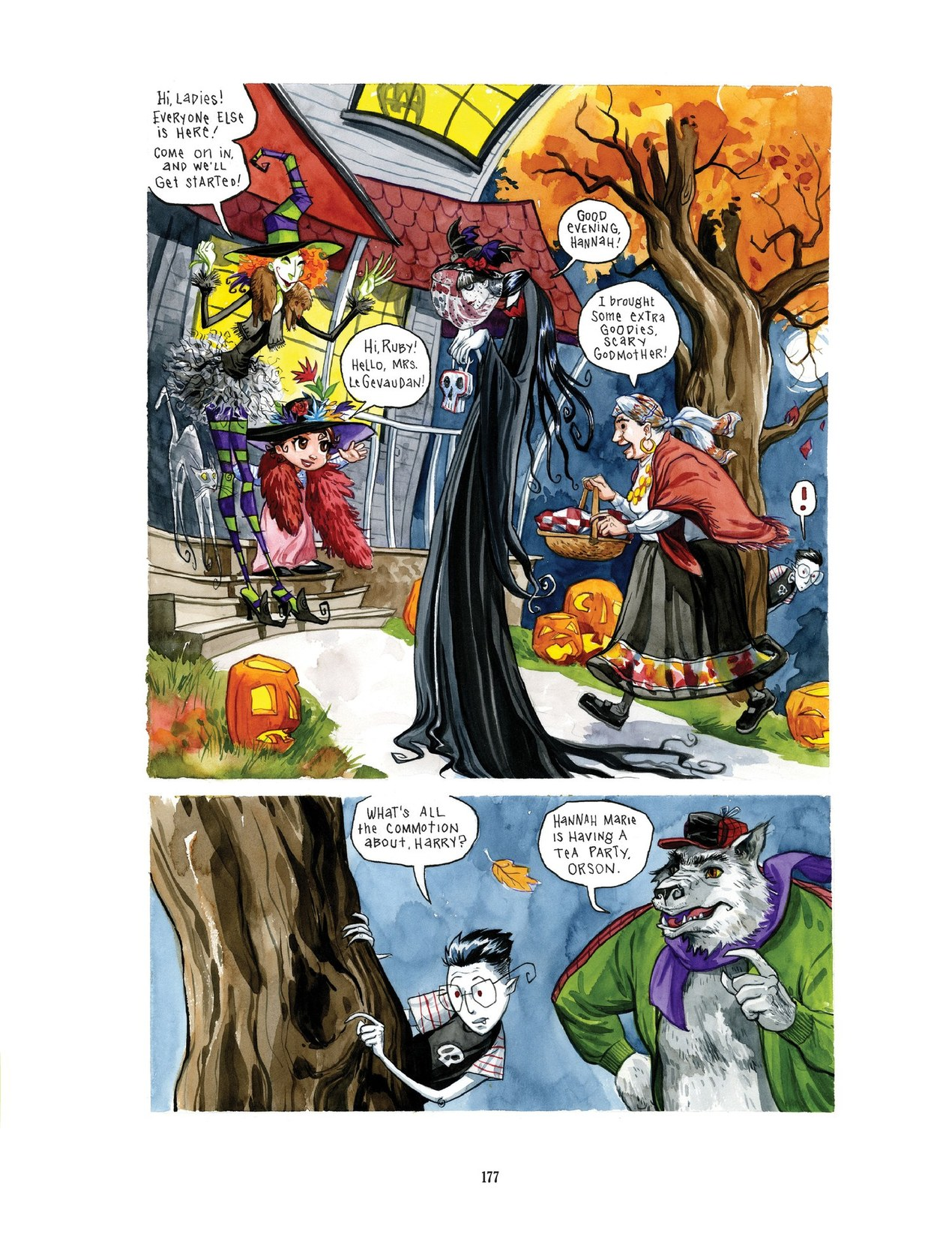 Read online Scary Godmother comic -  Issue # TPB - 177