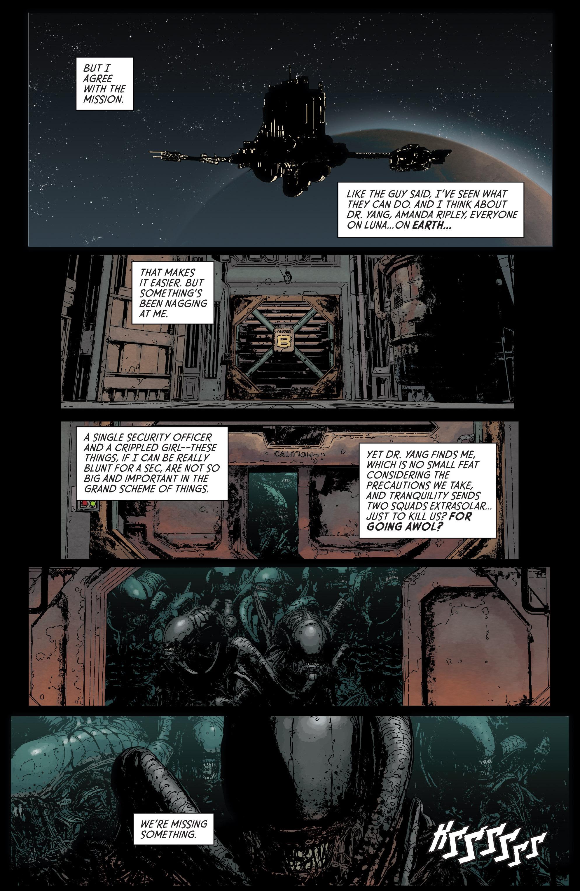 Read online Aliens: Defiance comic -  Issue #5 - 20