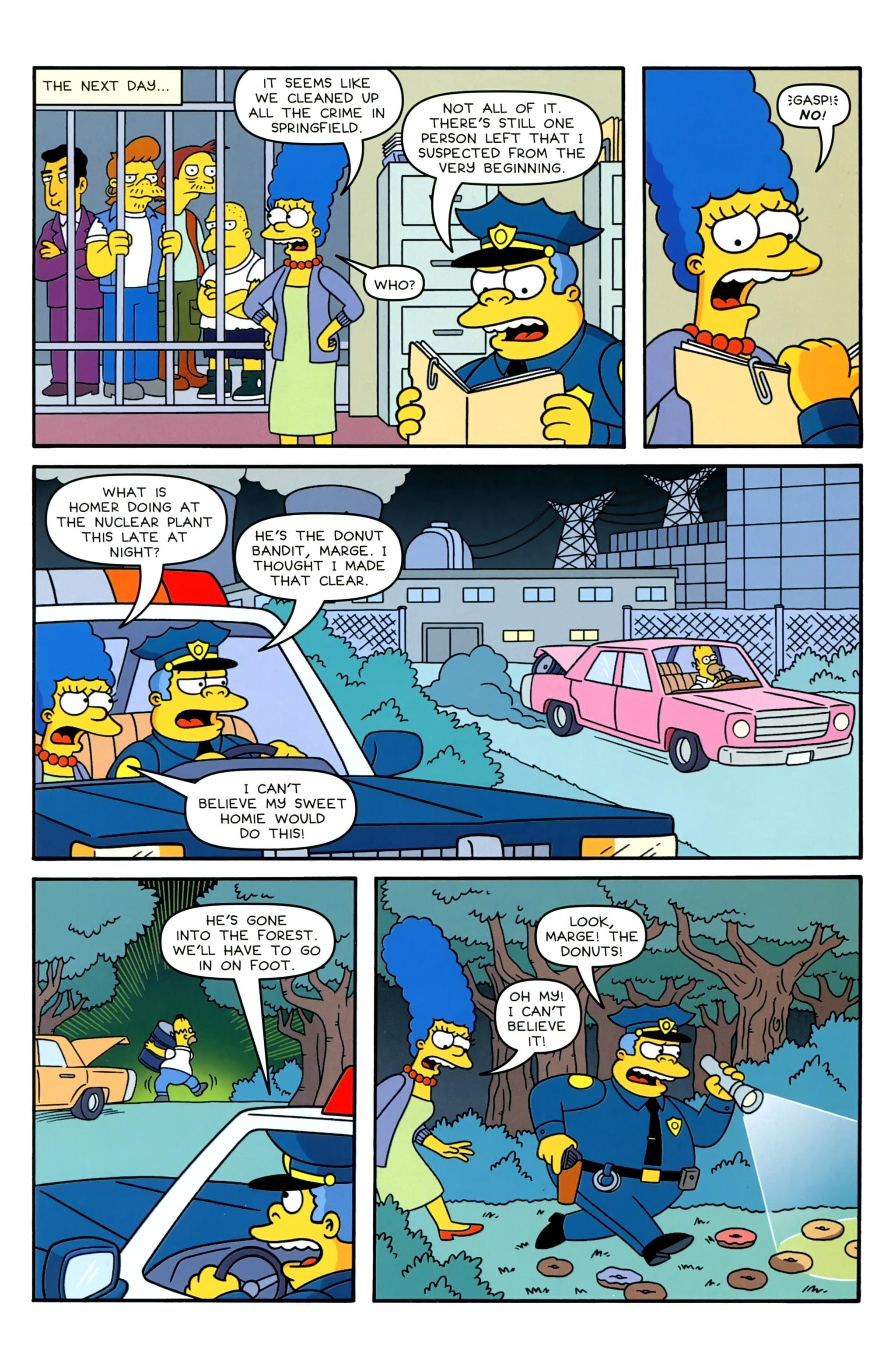 Read online Simpsons Comics comic -  Issue #230 - 21