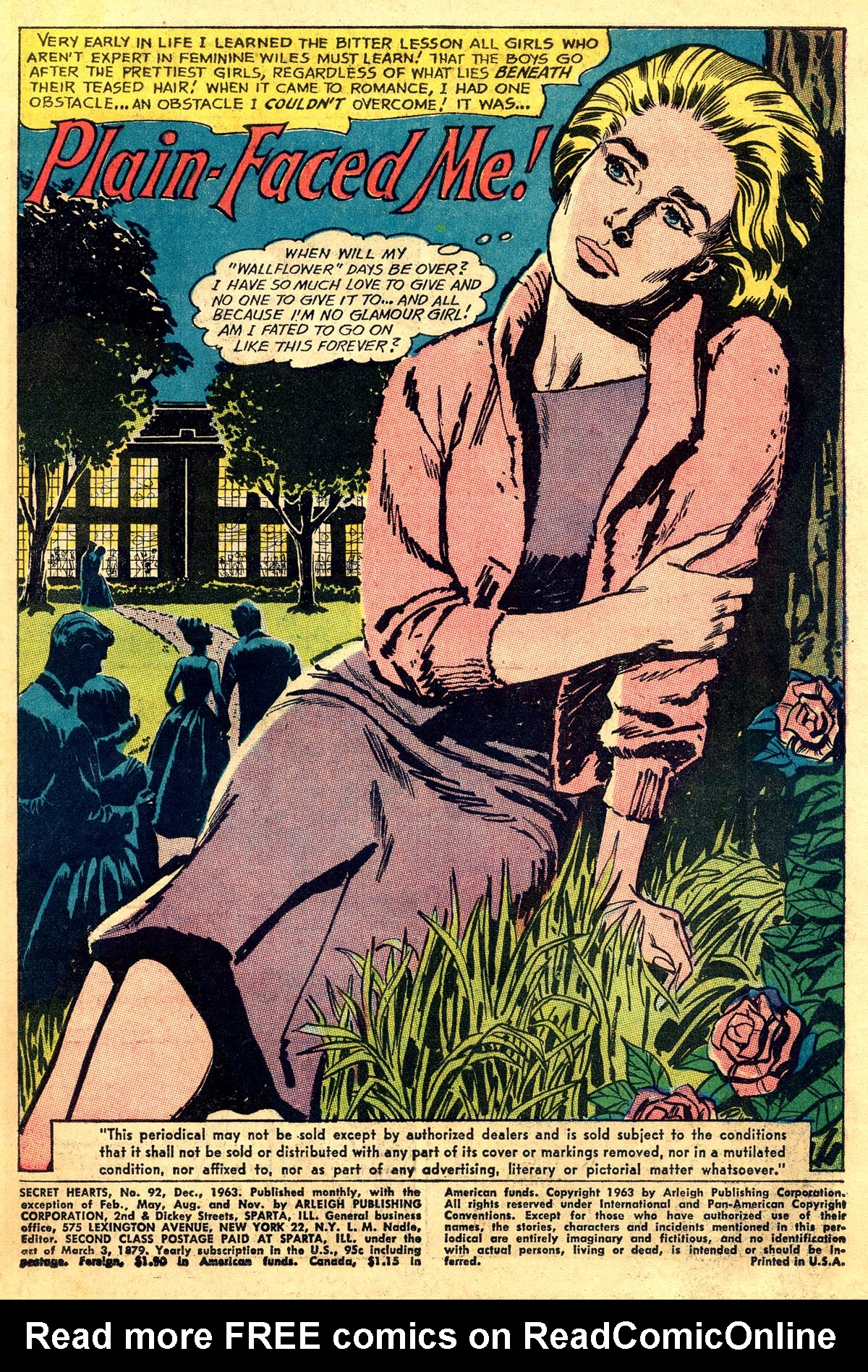 Read online Secret Hearts comic -  Issue #93 - 3