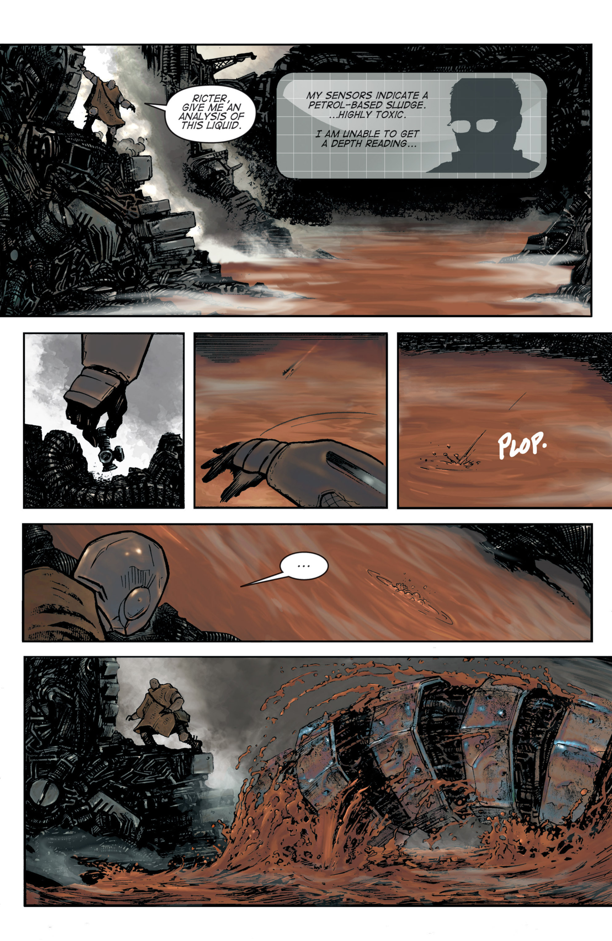 Read online Planetoid comic -  Issue # TPB - 21