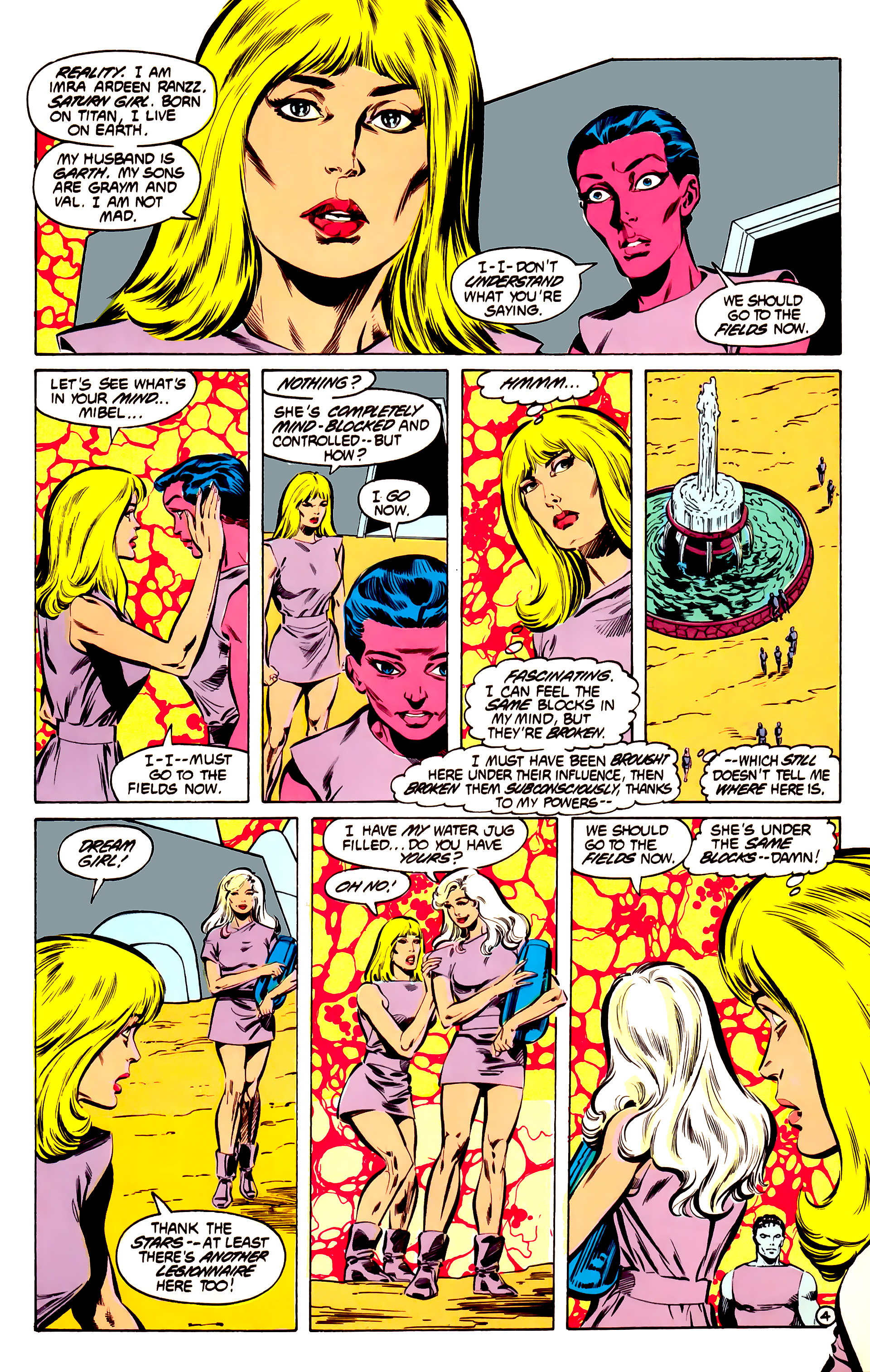 Legion of Super-Heroes (1984) 32 Page 3