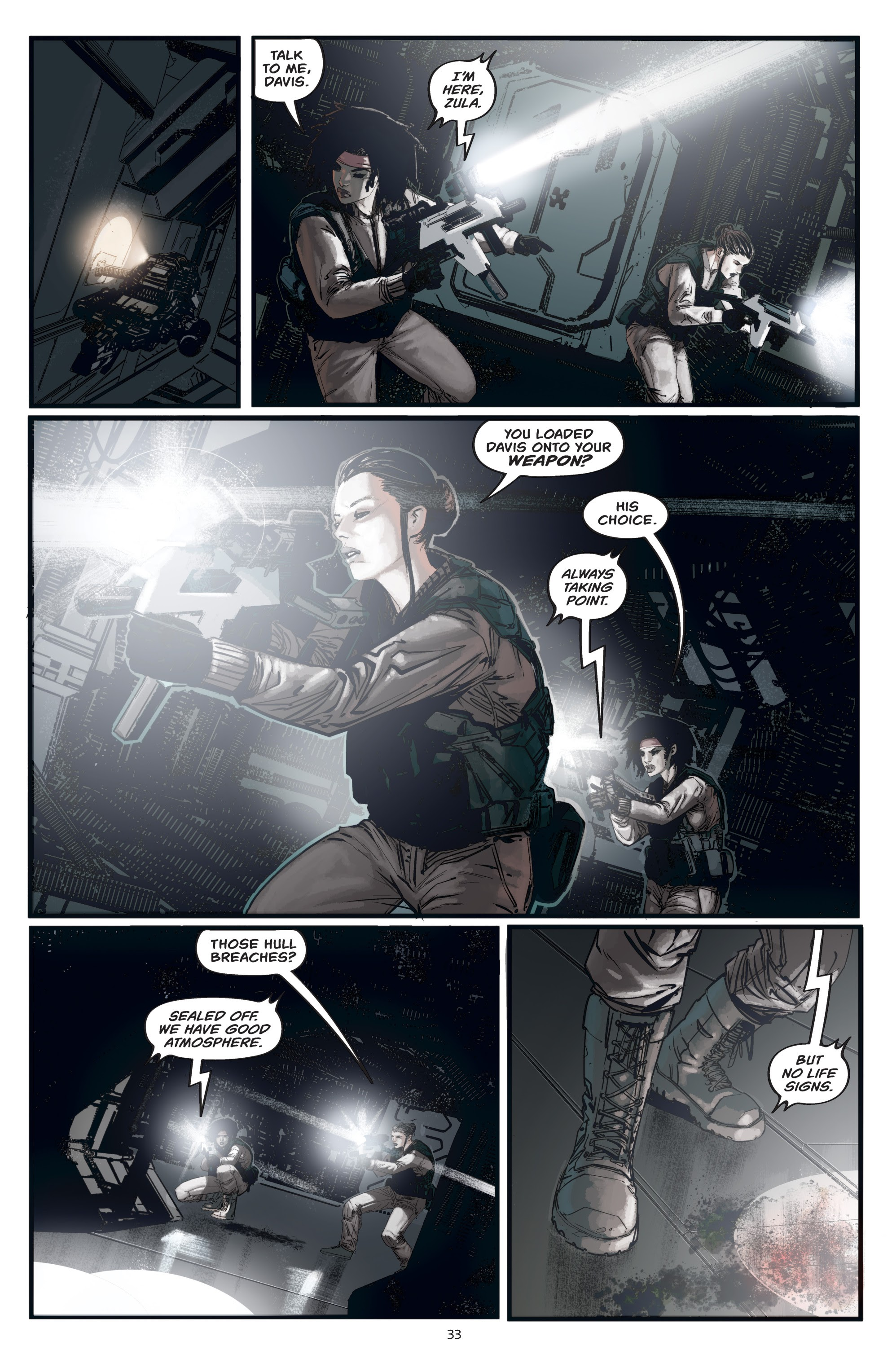 Read online Aliens: Resistance comic -  Issue # _TPB - 33