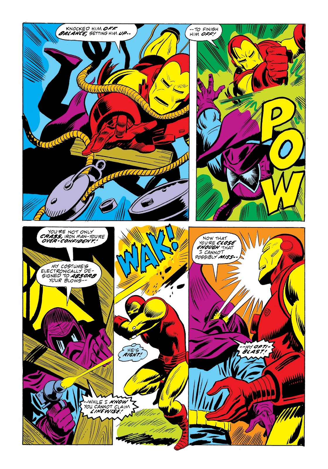 Read online Marvel Masterworks: The Invincible Iron Man comic -  Issue # TPB 9 (Part 2) - 51