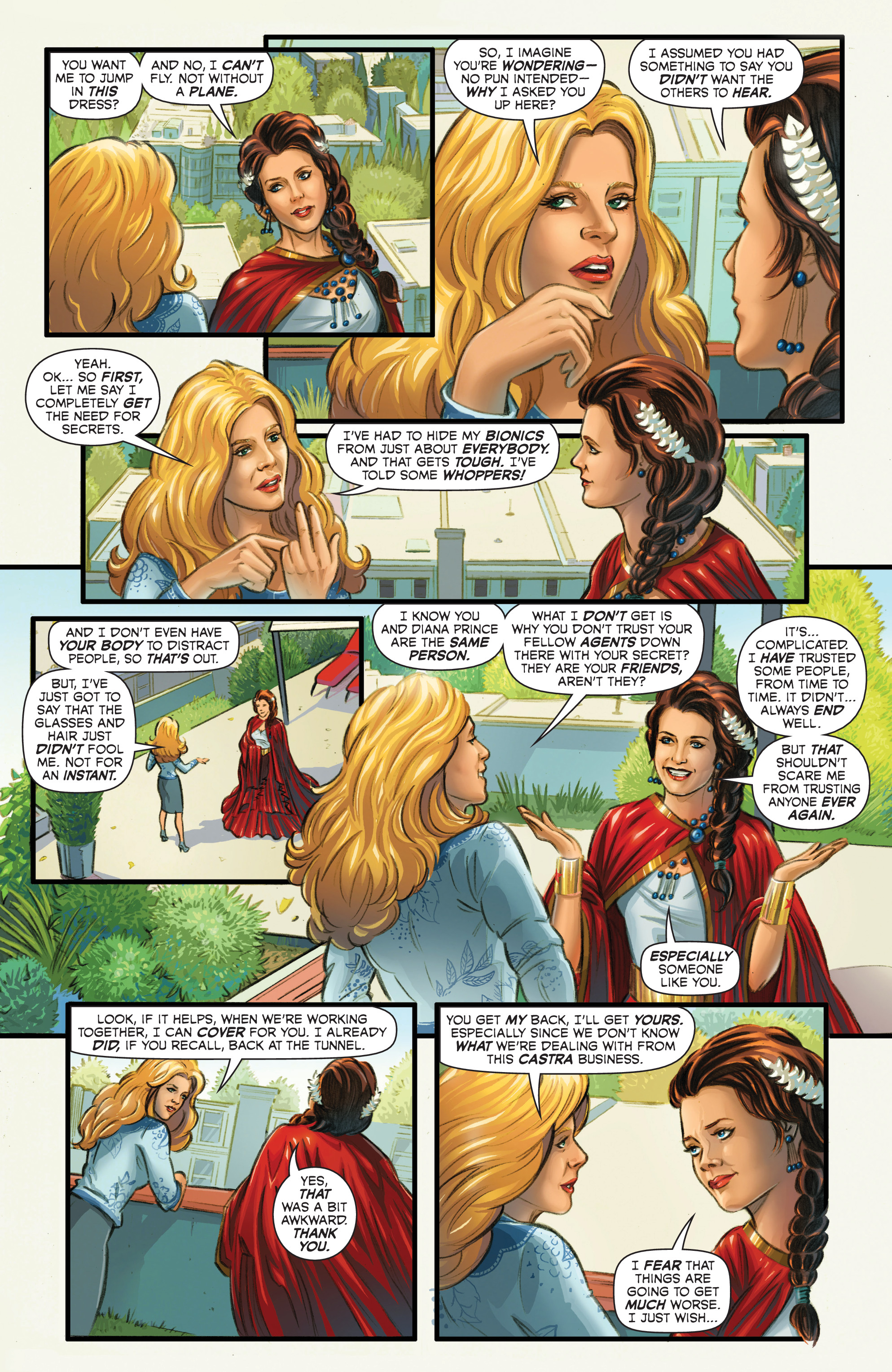 Read online Wonder Woman '77 Meets The Bionic Woman comic -  Issue #2 - 8