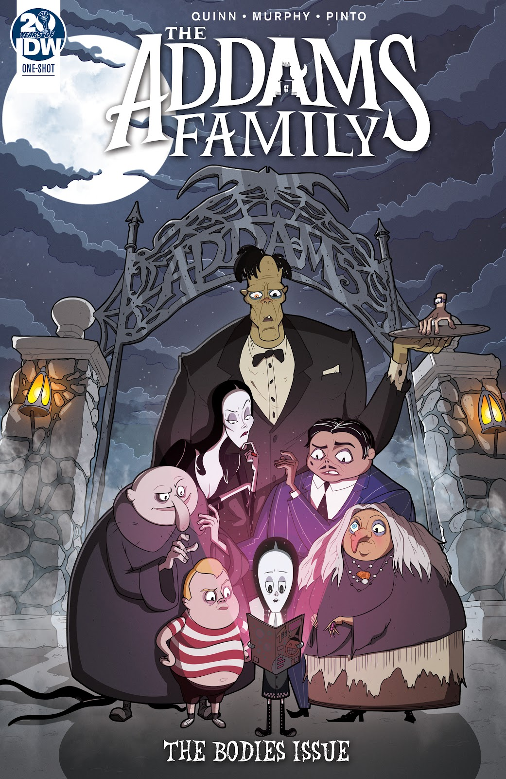 Read online Addams Family: The Bodies Issue comic -  Issue # Full - 1