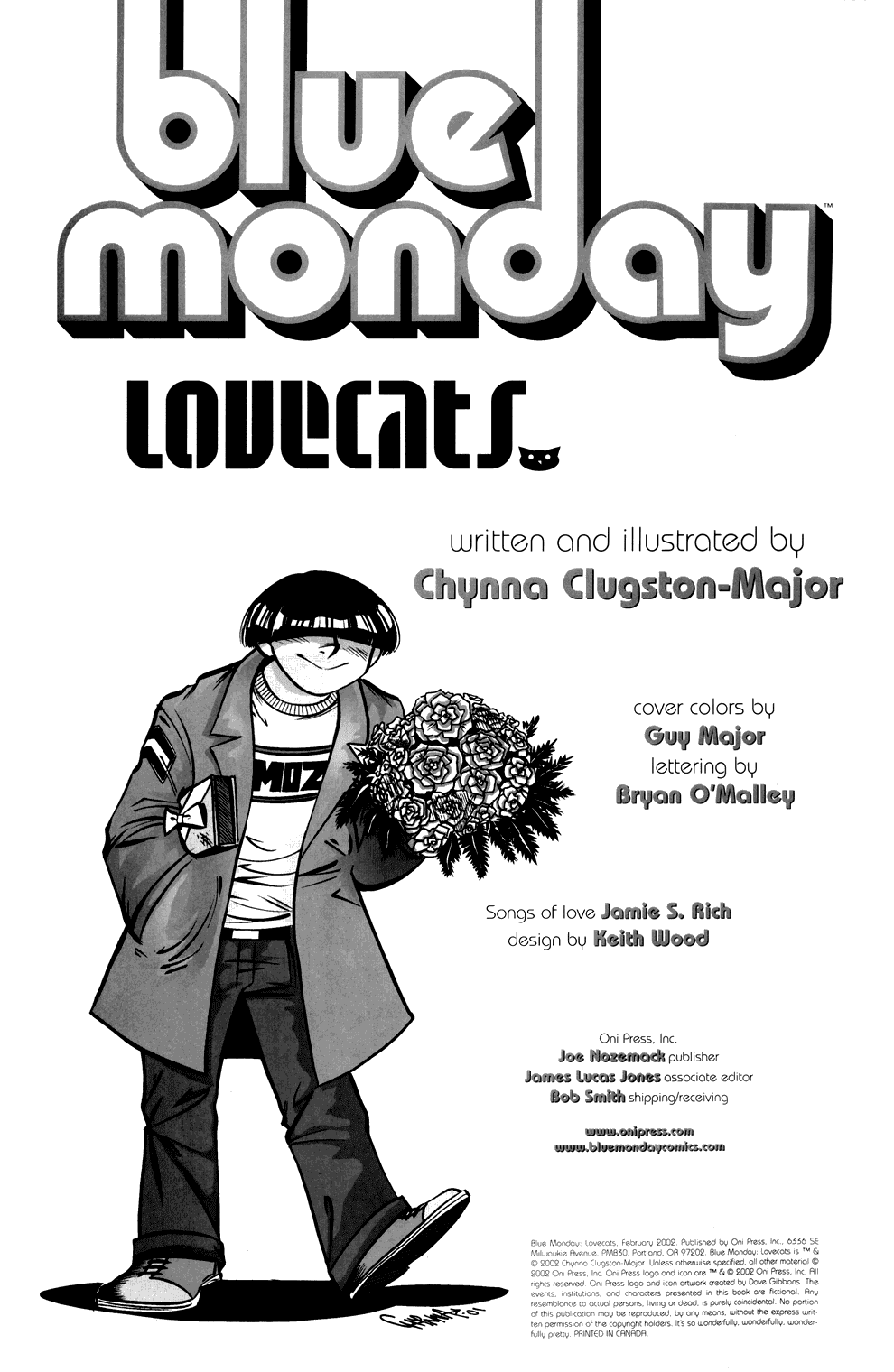 Read online Blue Monday: Lovecats comic -  Issue # Full - 2