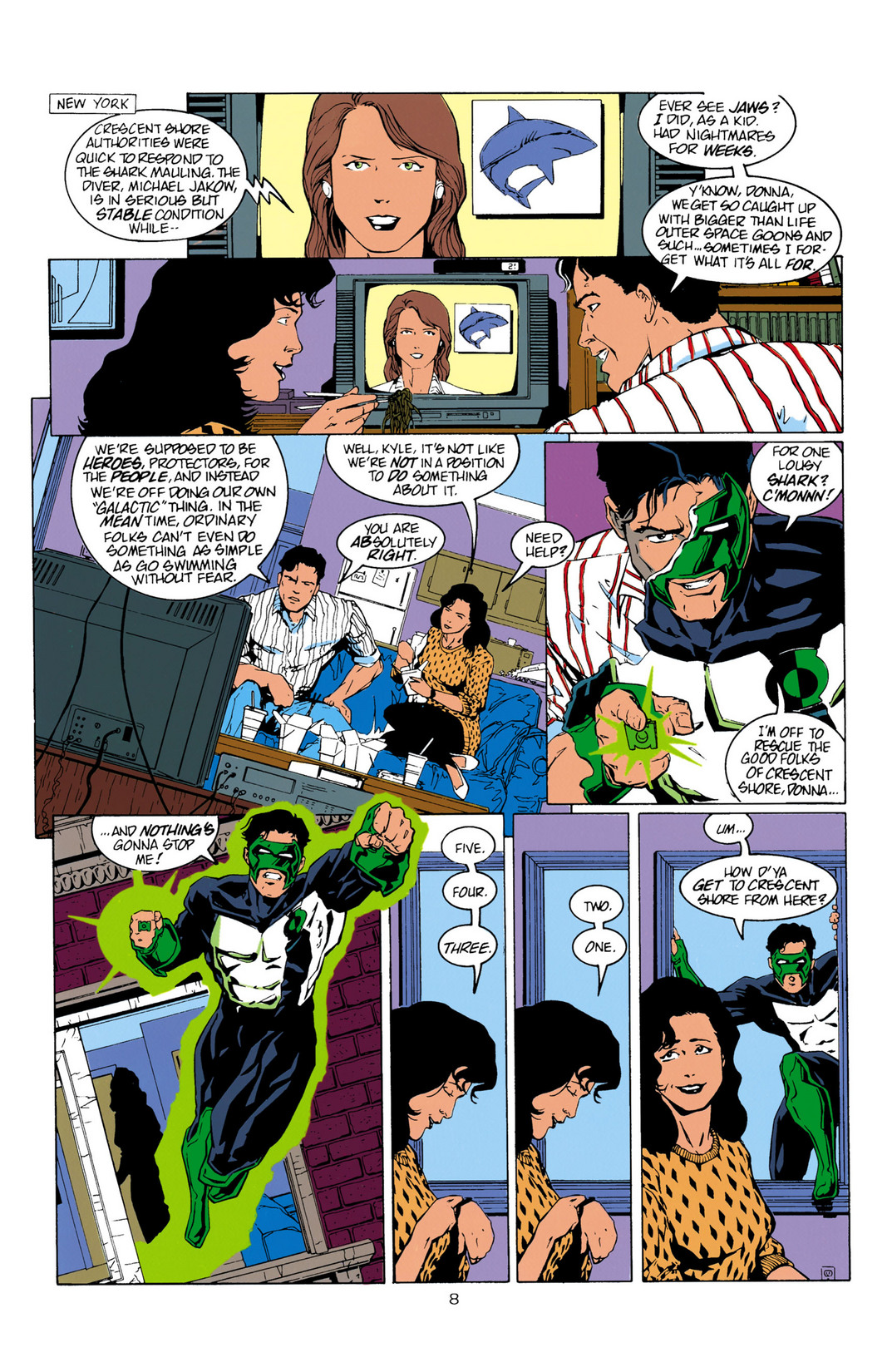 Read online Aquaman (1994) comic -  Issue #10 - 9