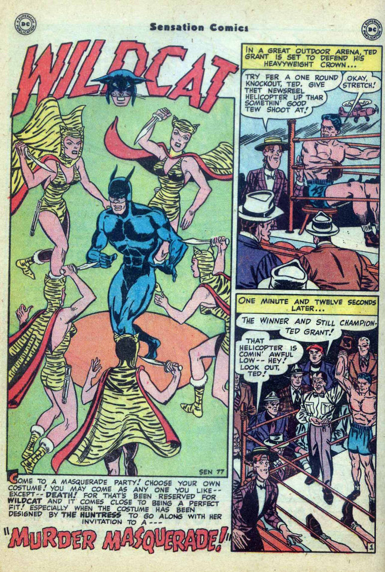 Read online Sensation (Mystery) Comics comic -  Issue #73 - 42