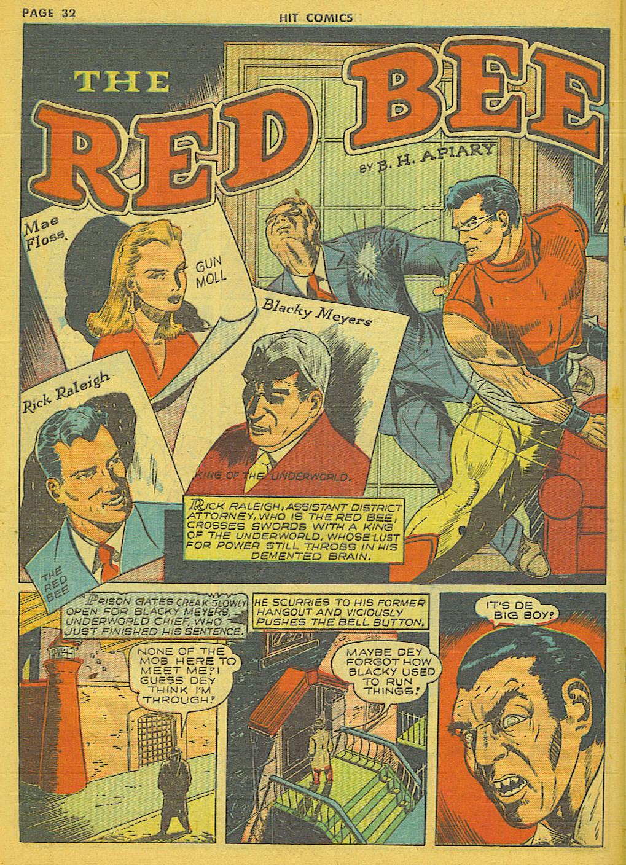 Read online Hit Comics comic -  Issue #21 - 34
