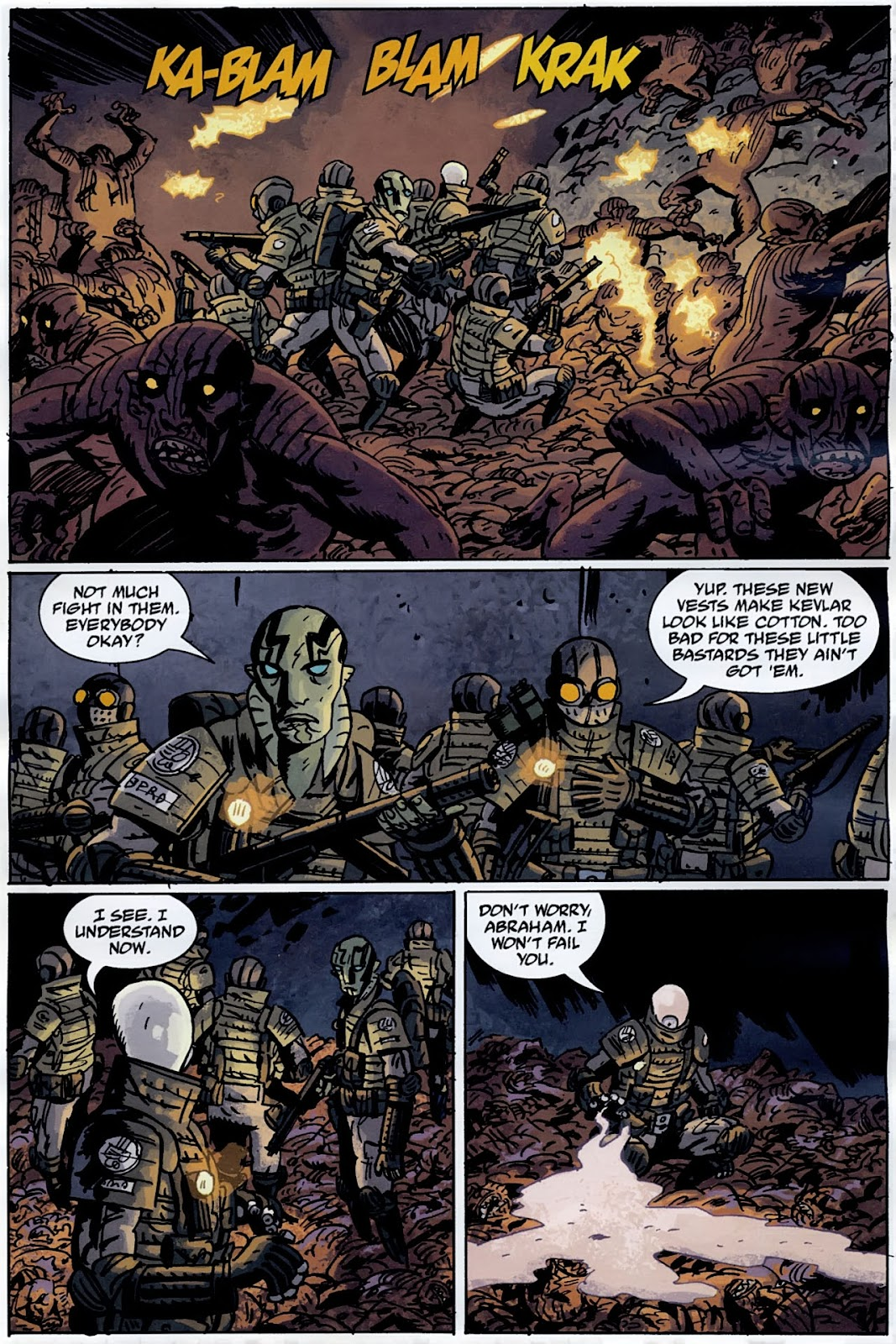 B.P.R.D.: The Warning issue 4 - Page 13