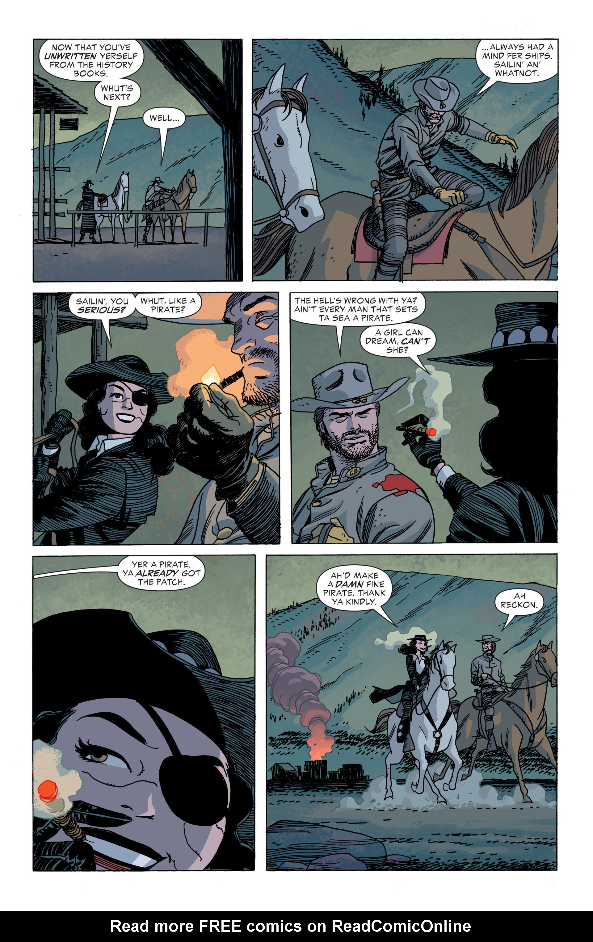 Read online All-Star Western (2011) comic -  Issue #34 - 20