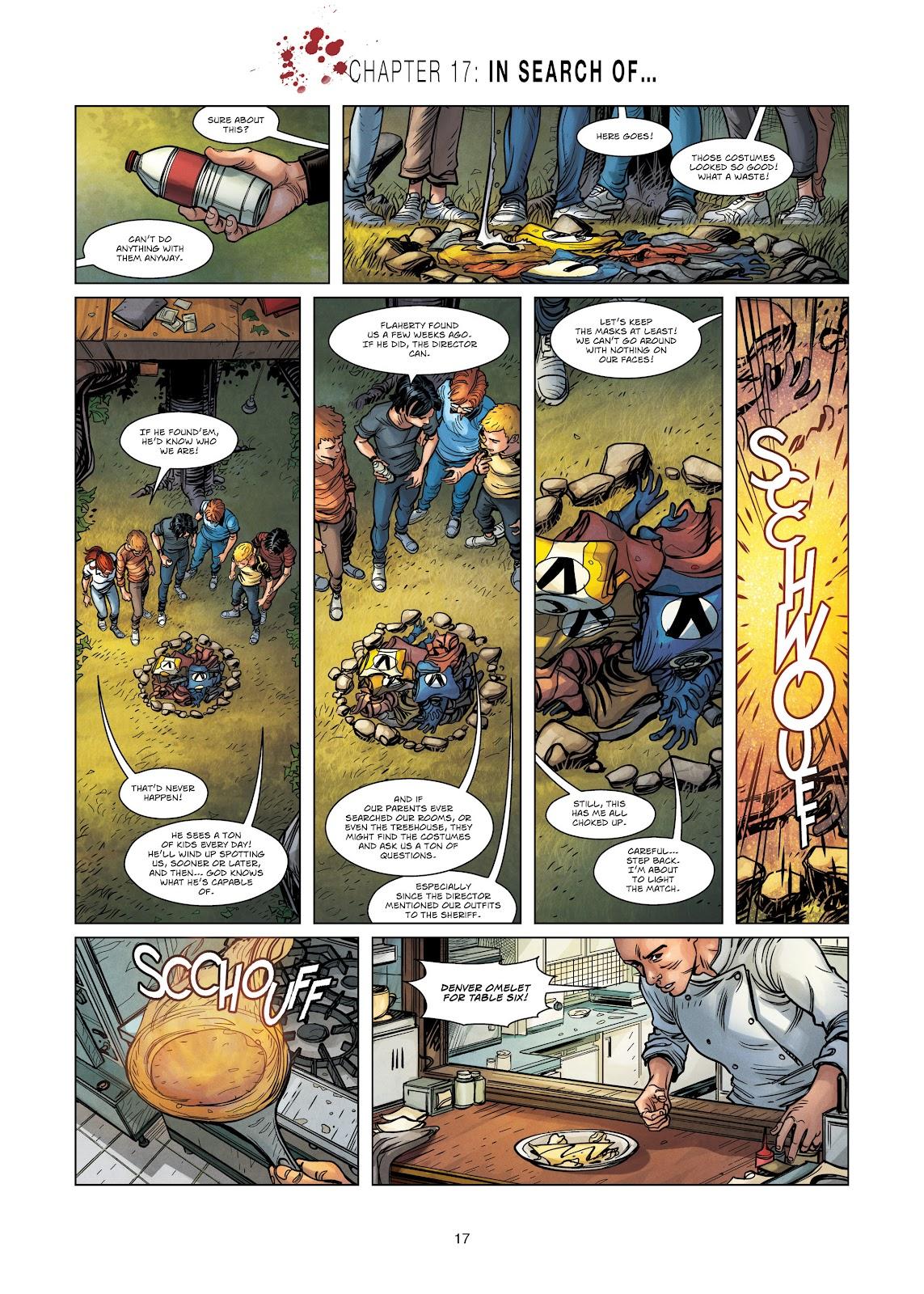 Read online Vigilantes comic -  Issue #3 - 17