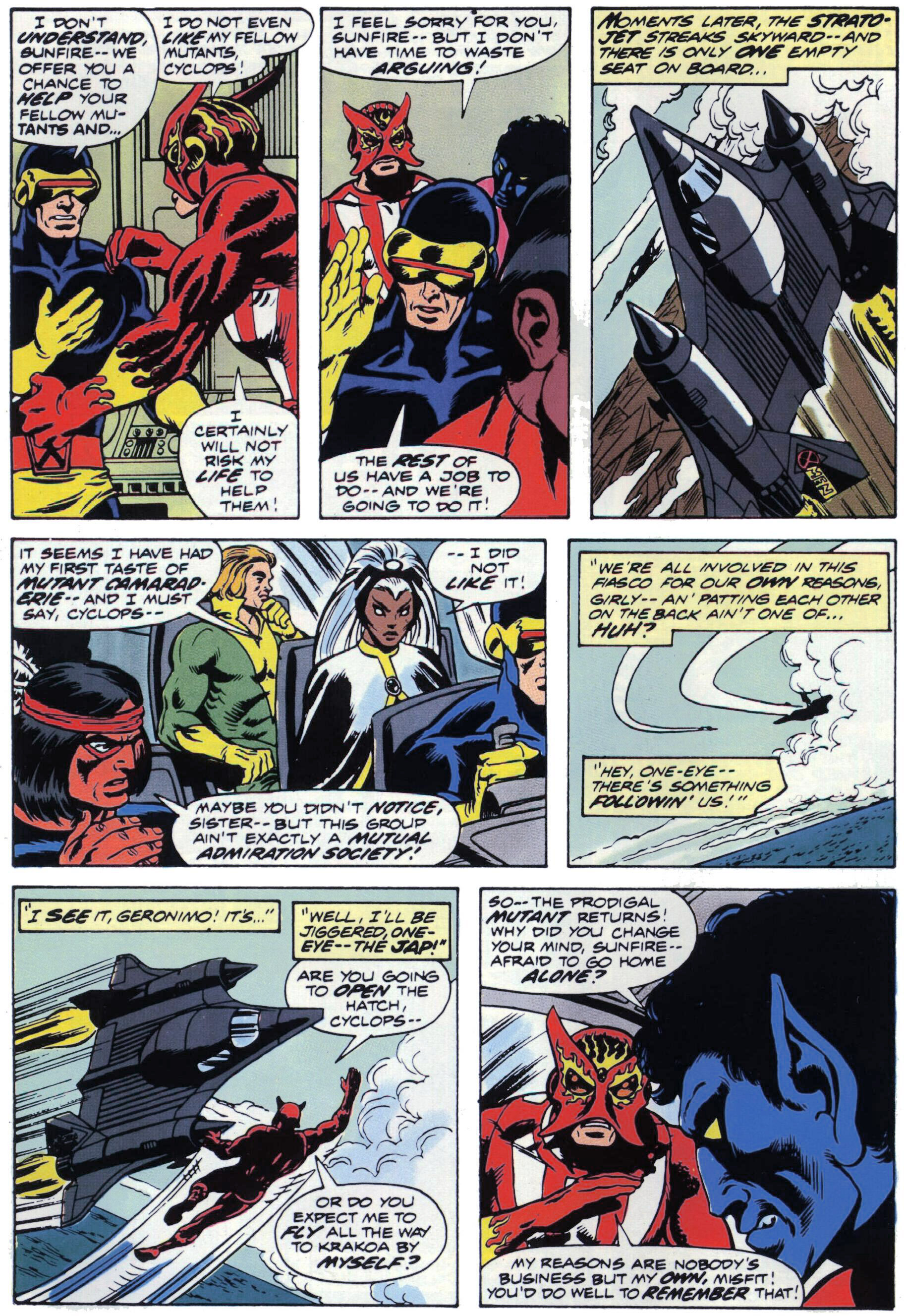 Read online Giant-Size X-Men comic -  Issue #1 - 21