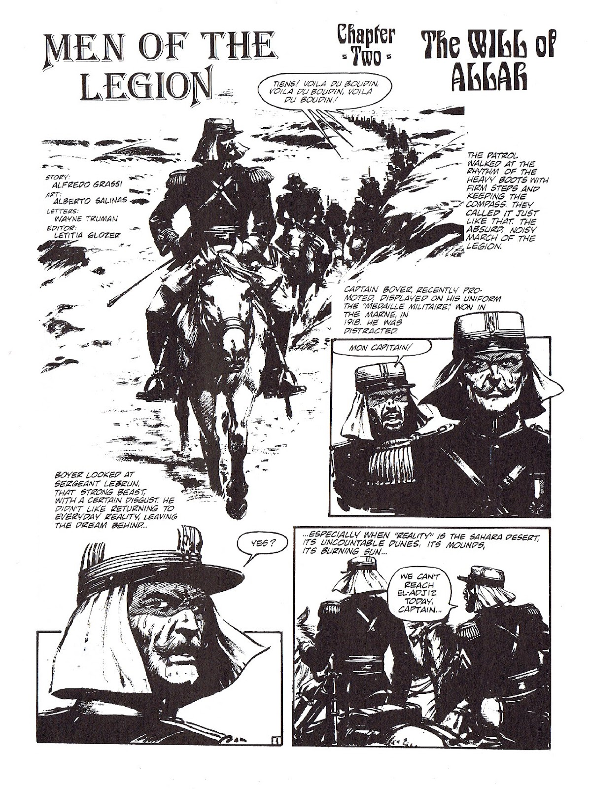 Read online Merchants of Death comic -  Issue #4 - 3