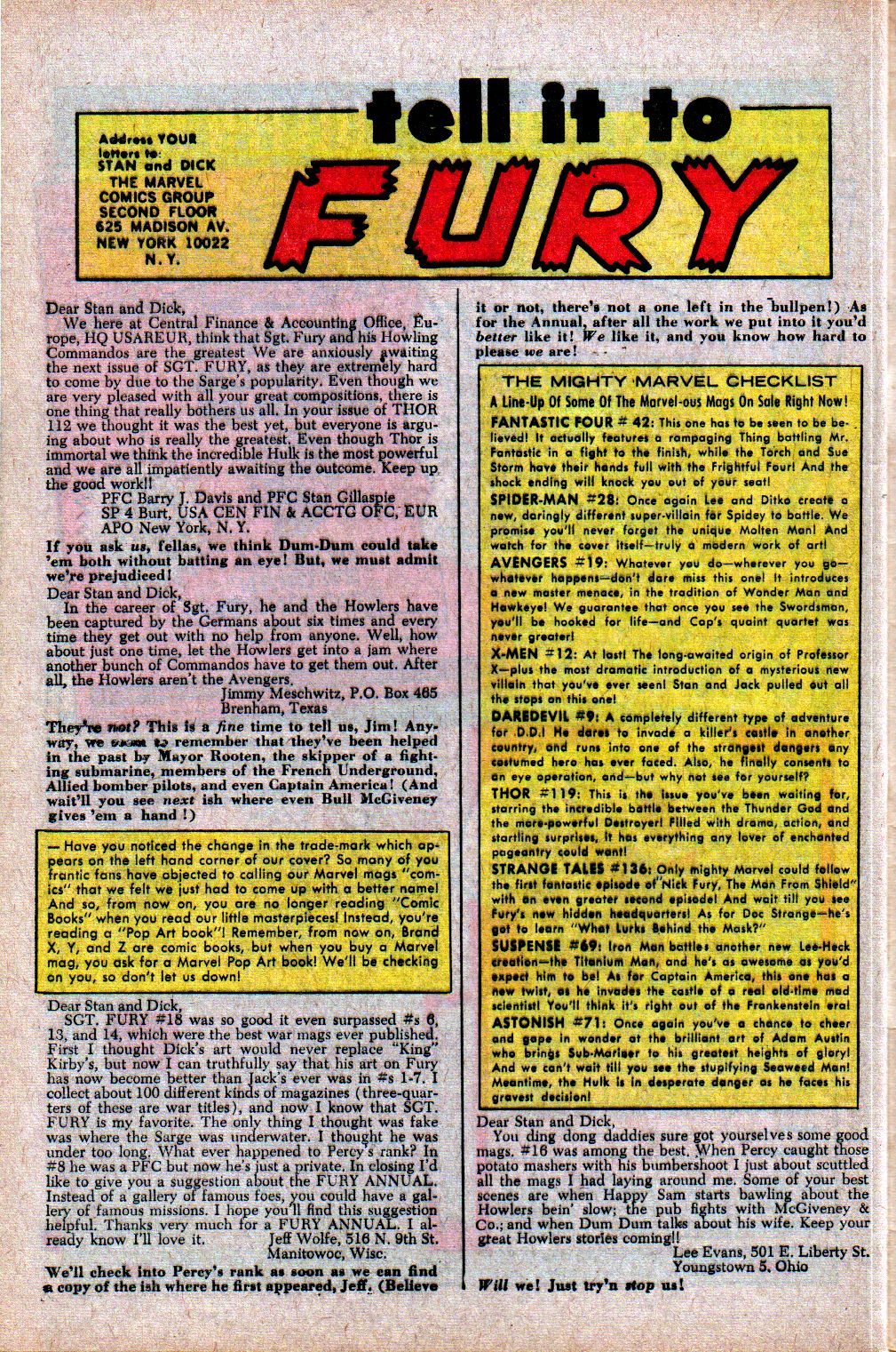 Read online Sgt. Fury comic -  Issue #21 - 32