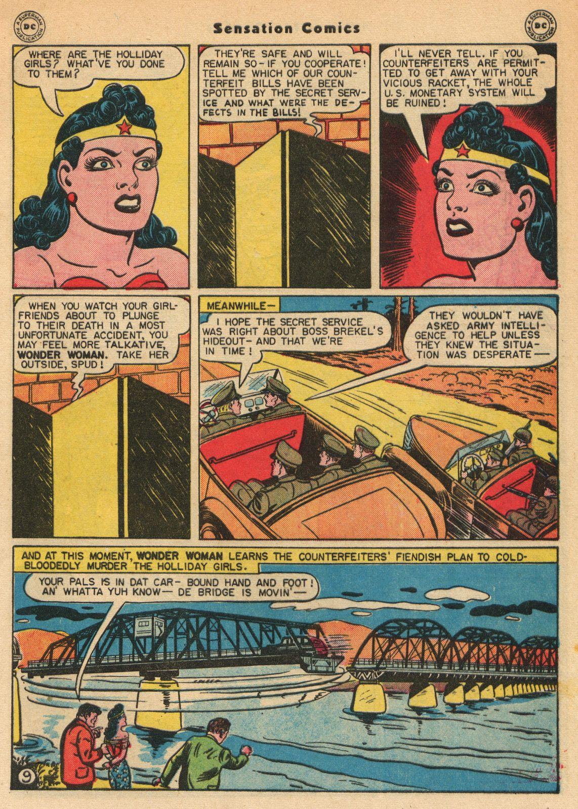 Read online Sensation (Mystery) Comics comic -  Issue #51 - 11