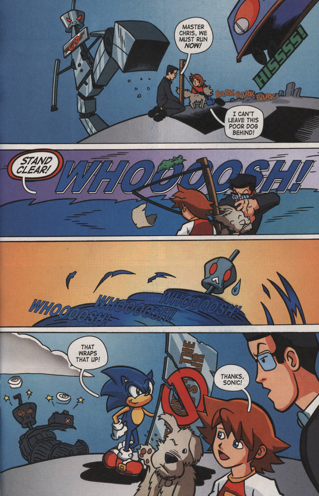 Read online Sonic X comic -  Issue #8 - 31