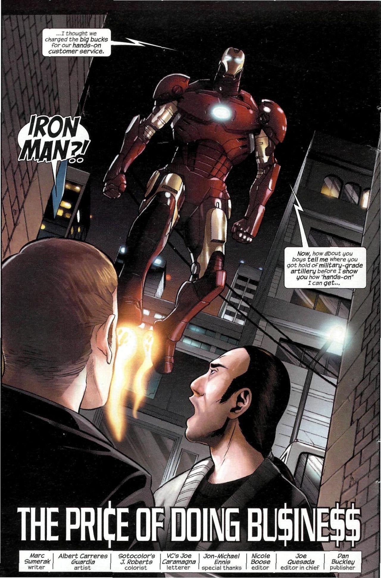 Read online Sega Iron Man Special comic -  Issue # Full - 4