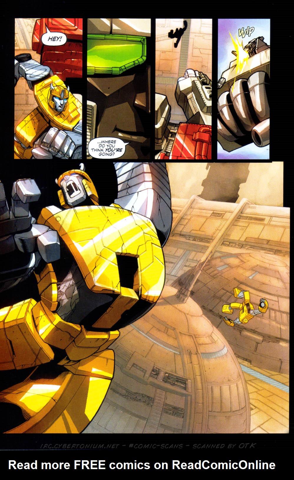 Read online Transformers Armada comic -  Issue #1 - 24