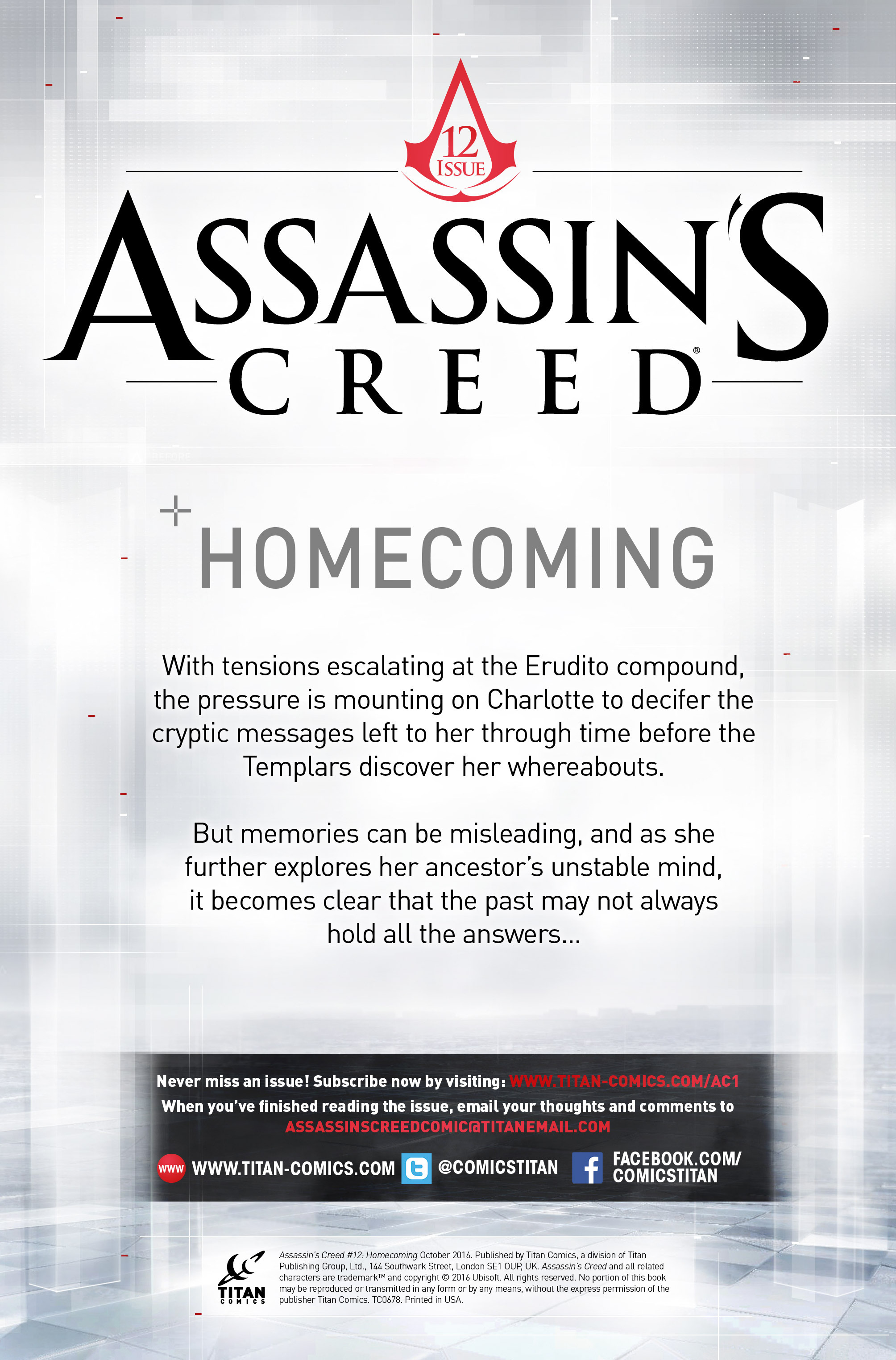 Read online Assassin's Creed (2015) comic -  Issue #12 - 2