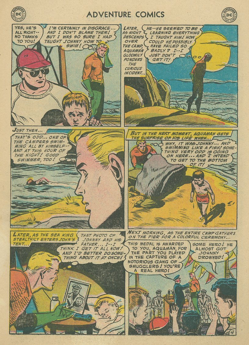 Read online Adventure Comics (1938) comic -  Issue #221 - 19