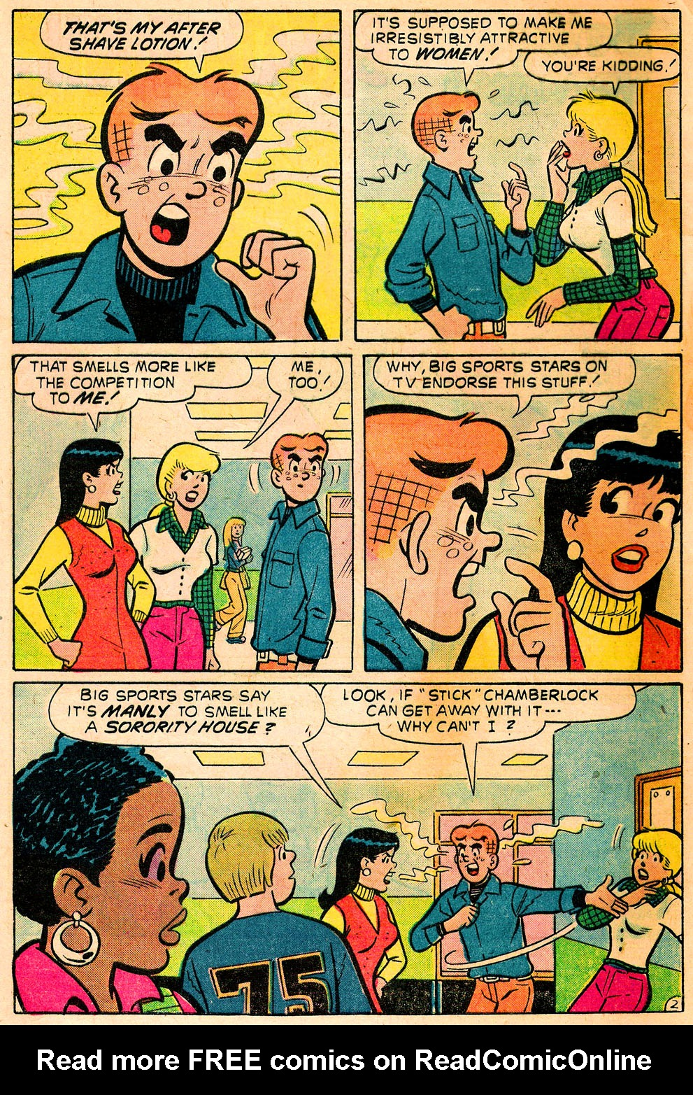 Read online Archie's Girls Betty and Veronica comic -  Issue #222 - 4