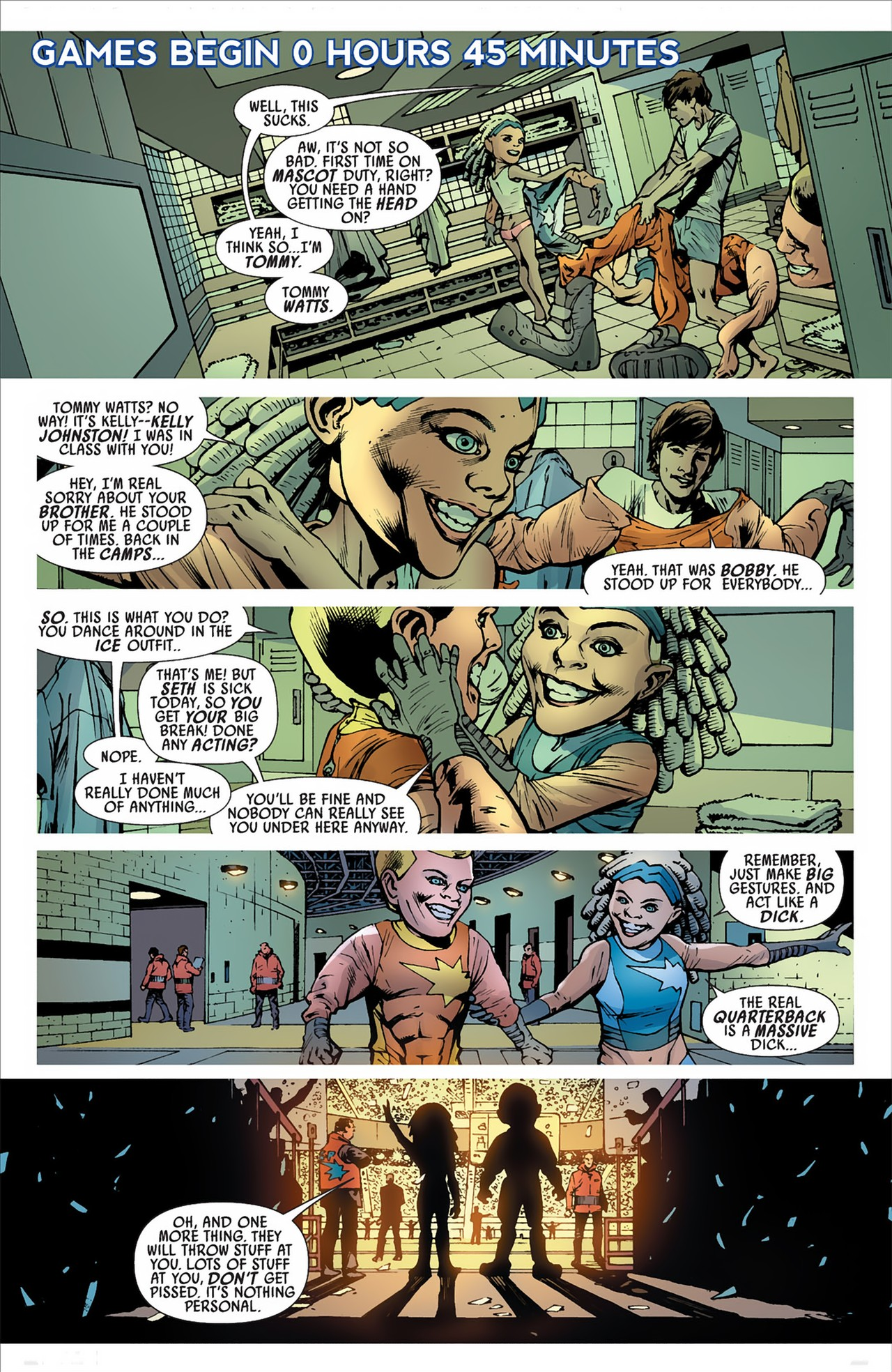 Read online America's Got Powers comic -  Issue #2 - 20