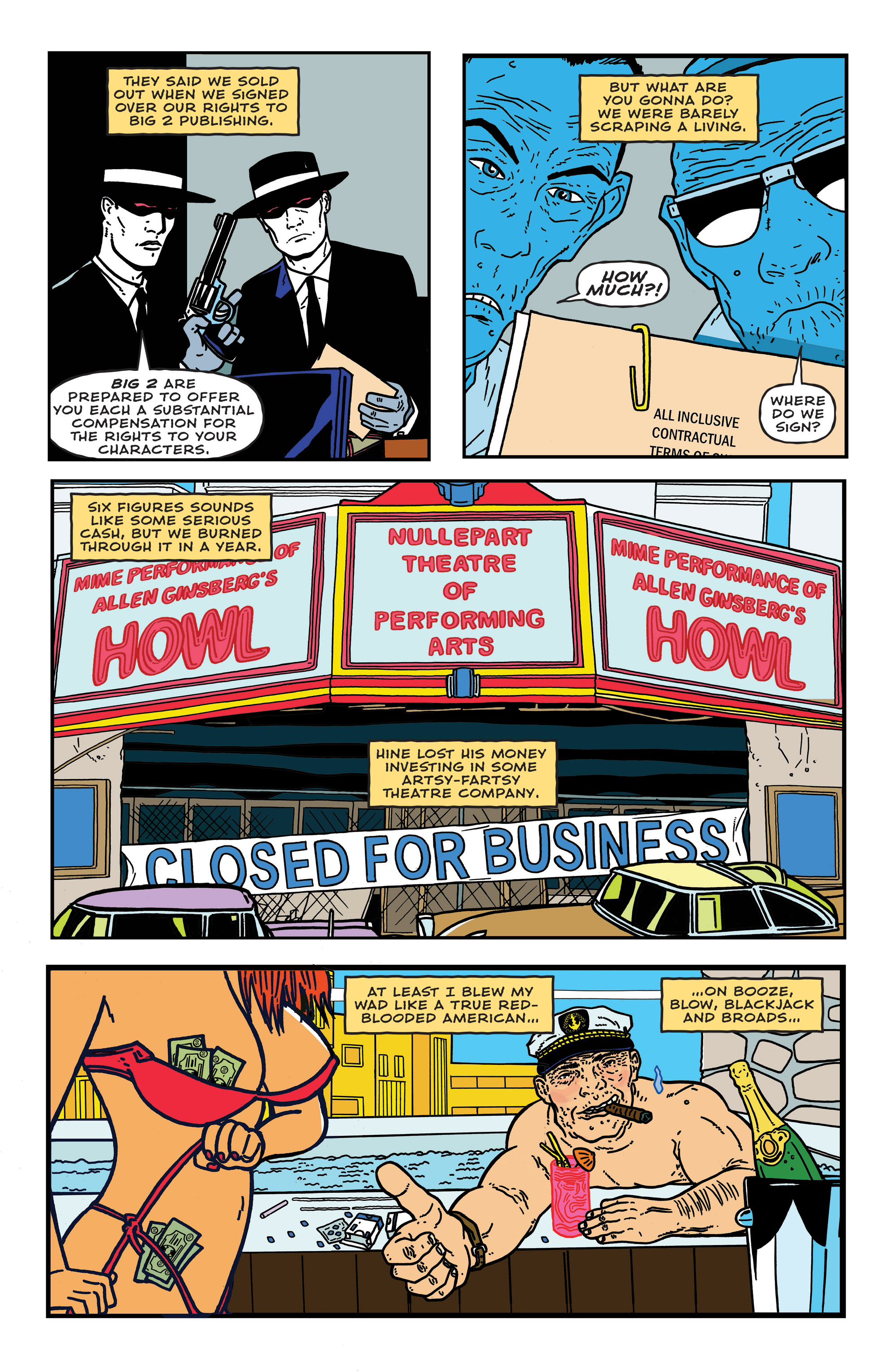 Read online Bulletproof Coffin: The Thousand Yard Stare comic -  Issue # Full - 6