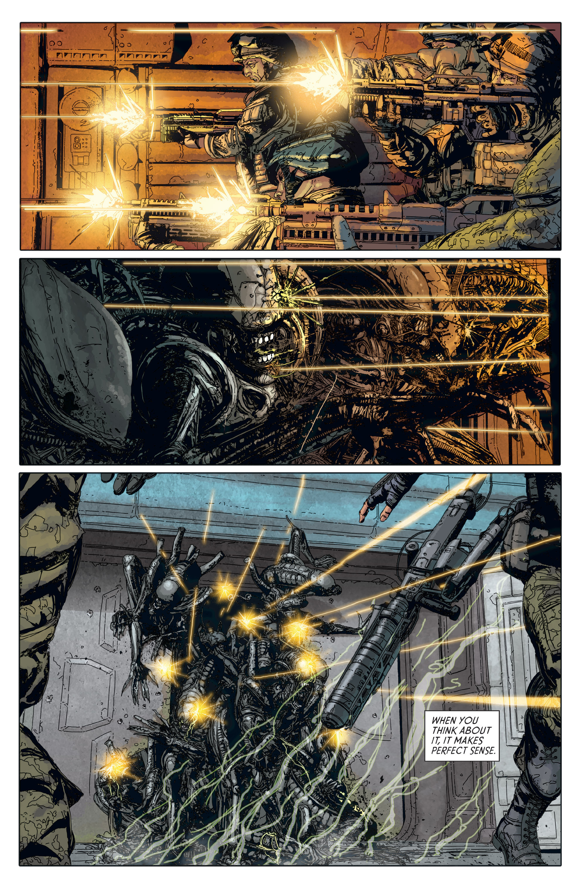 Read online Aliens: Defiance comic -  Issue #6 - 3