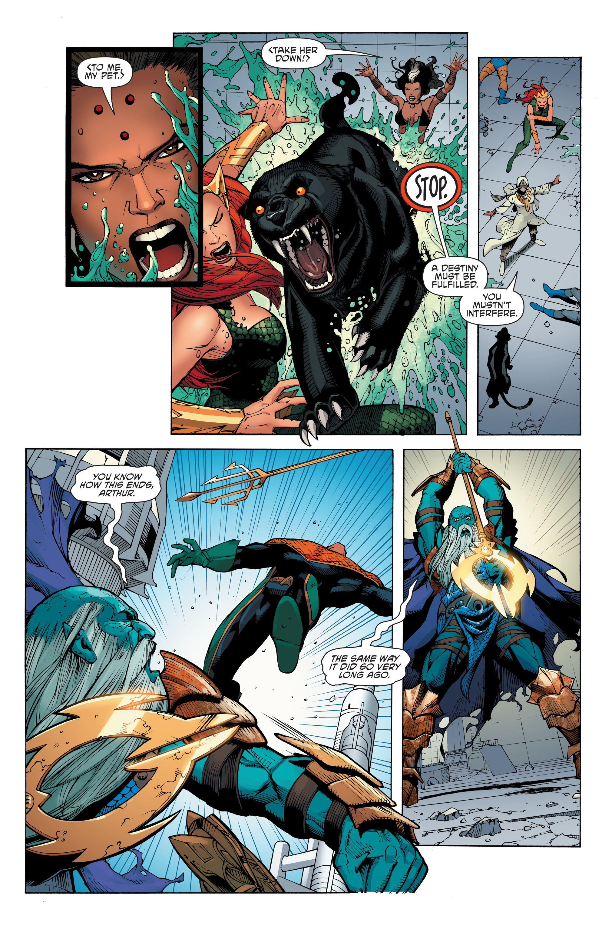 Read online Aquaman and the Others: Futures End comic -  Issue #Aquaman and the Others: Futures End Full - 17