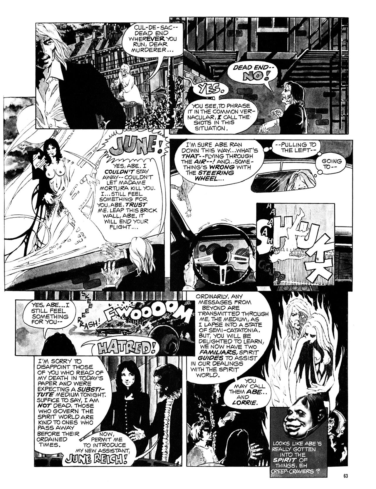 Read online Eerie Archives comic -  Issue # TPB 10 - 64