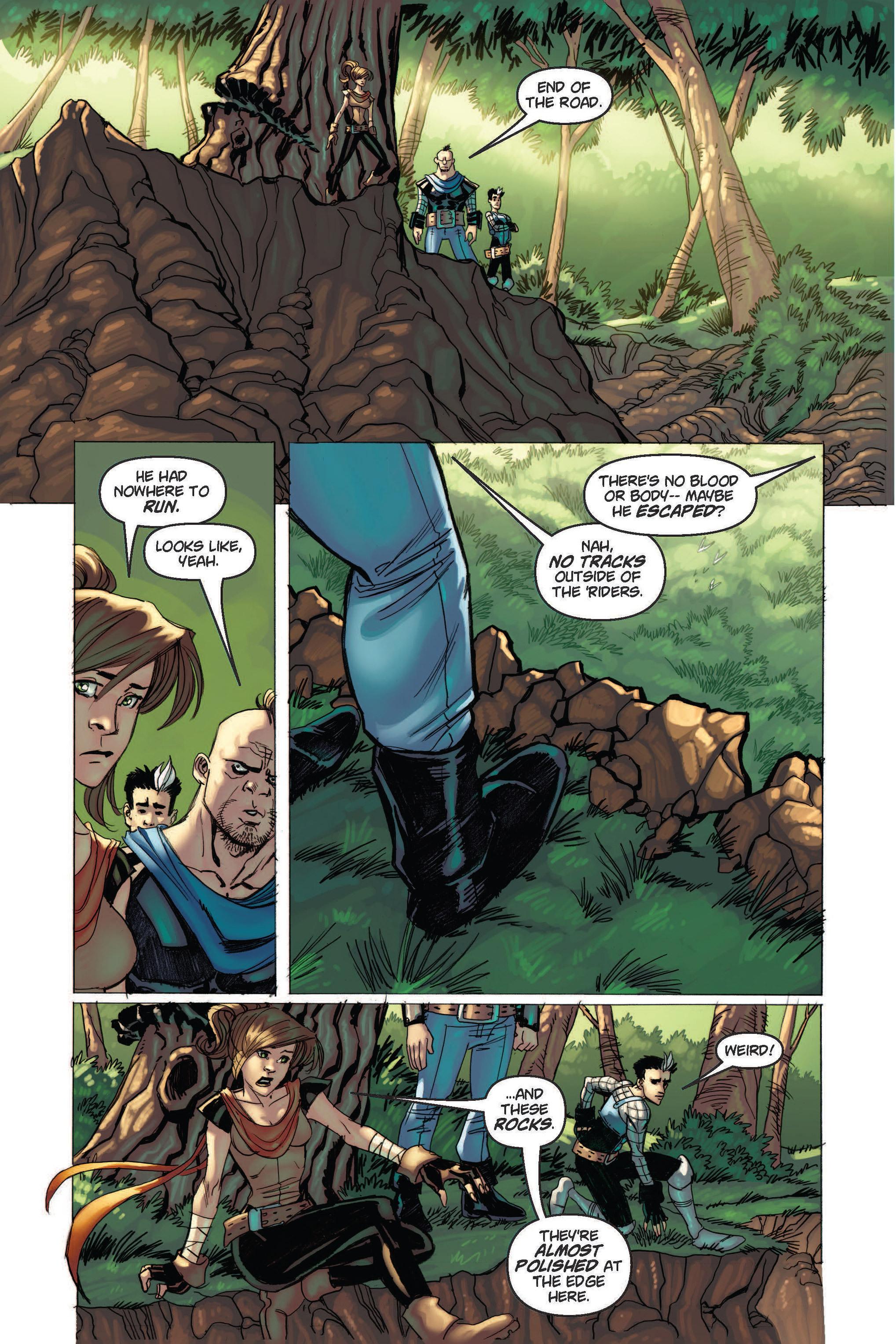 Read online Skyward comic -  Issue #2 - 17