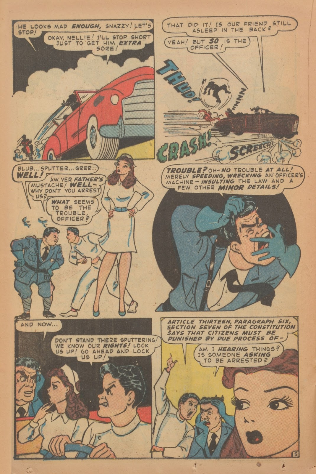 Read online Nellie The Nurse (1945) comic -  Issue #9 - 30