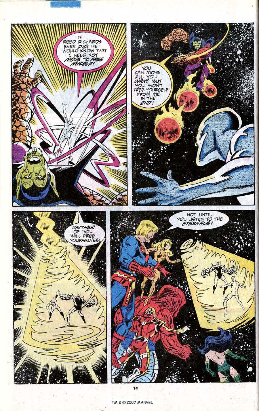 Read online Silver Surfer (1987) comic -  Issue # _Annual 1 - 16