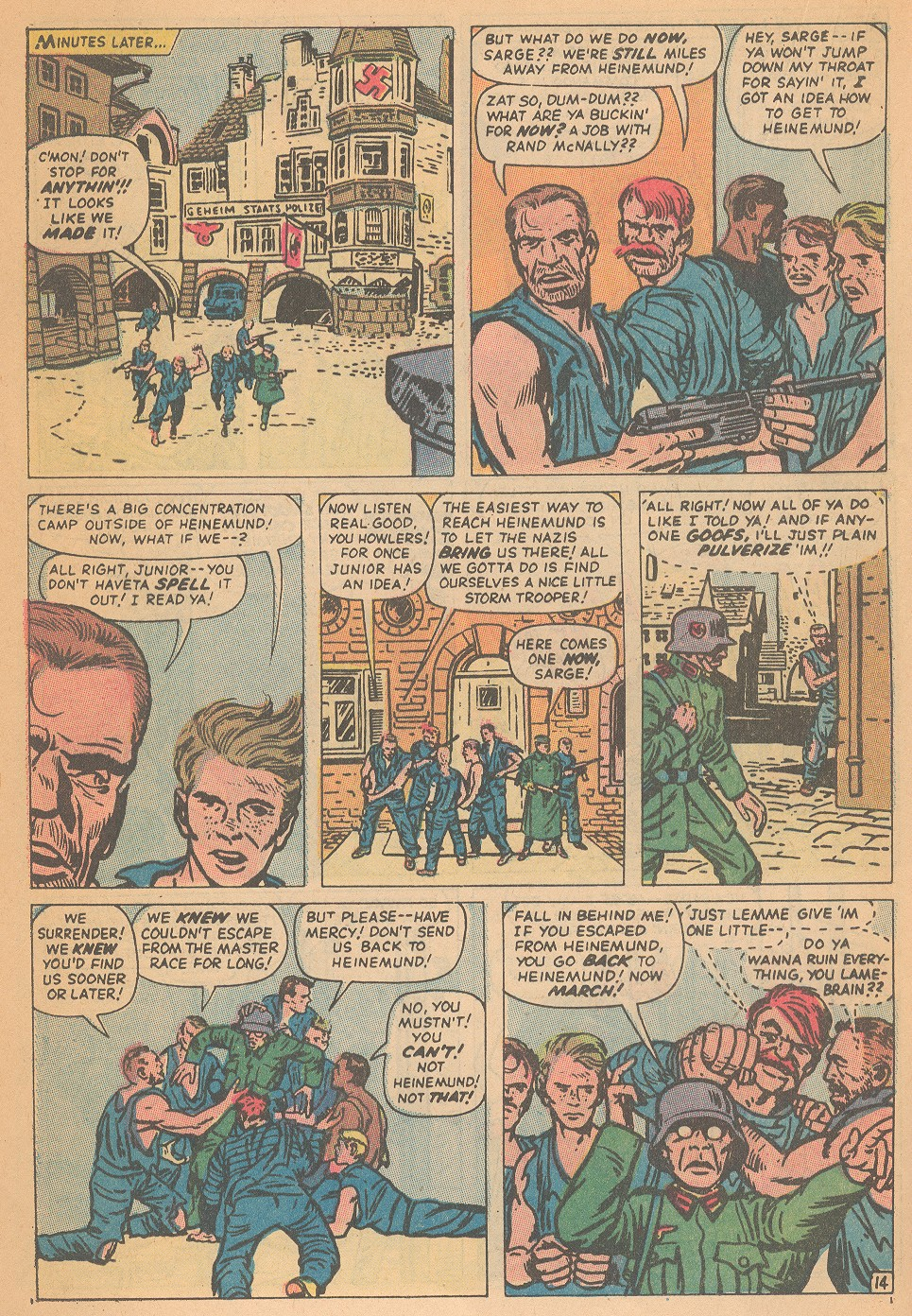 Read online Sgt. Fury comic -  Issue #95 - 20