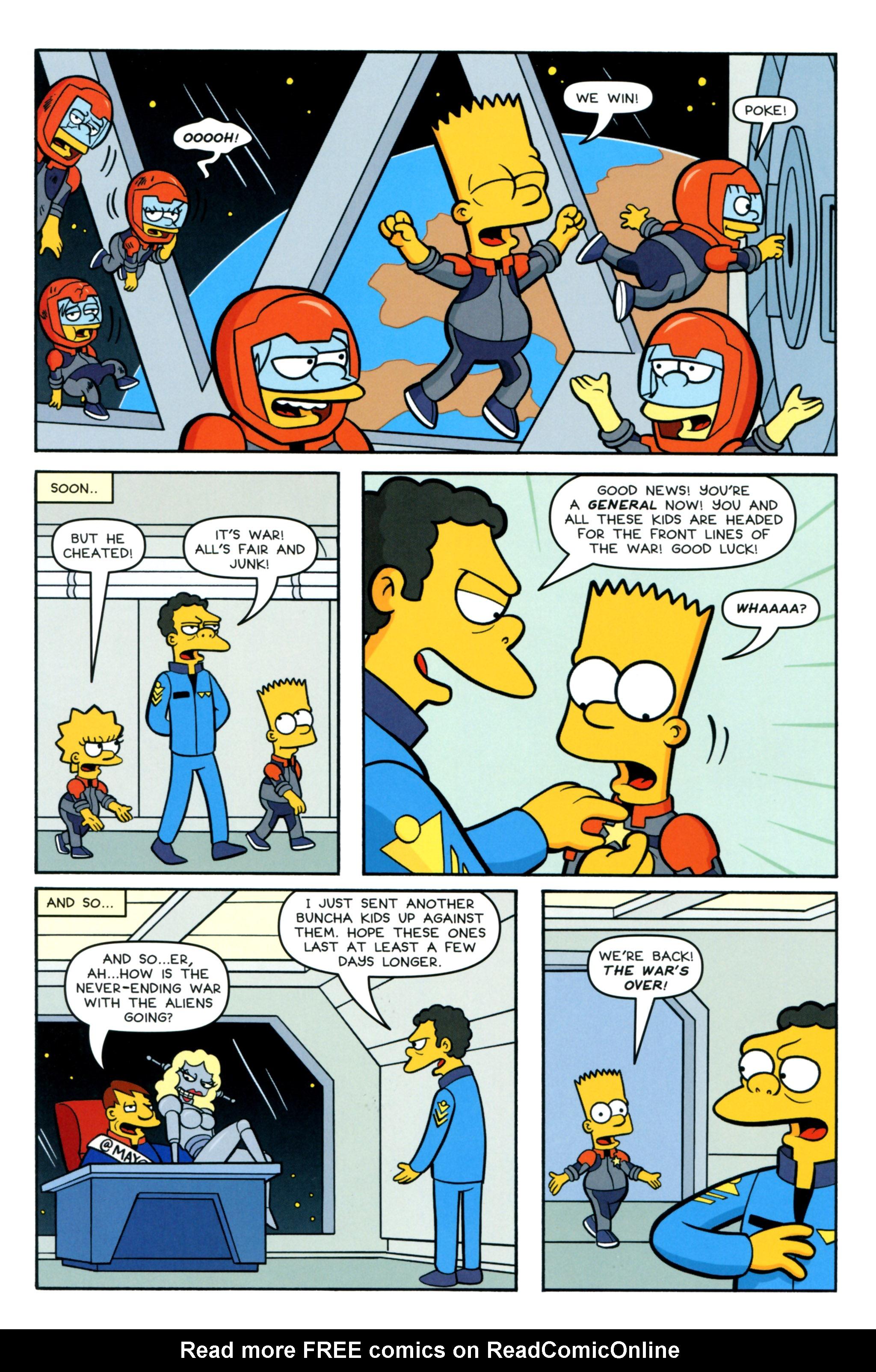Read online Simpsons Comics comic -  Issue #218 - 22