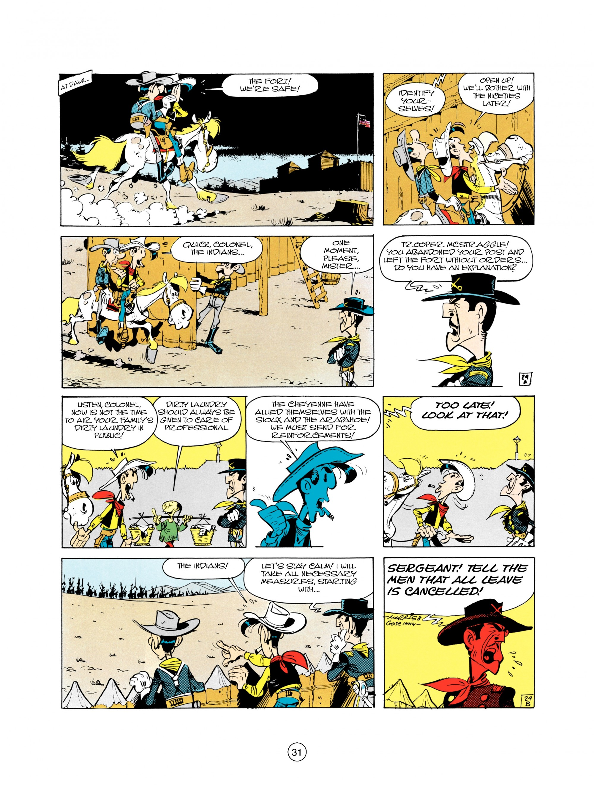 Read online A Lucky Luke Adventure comic -  Issue #21 - 31