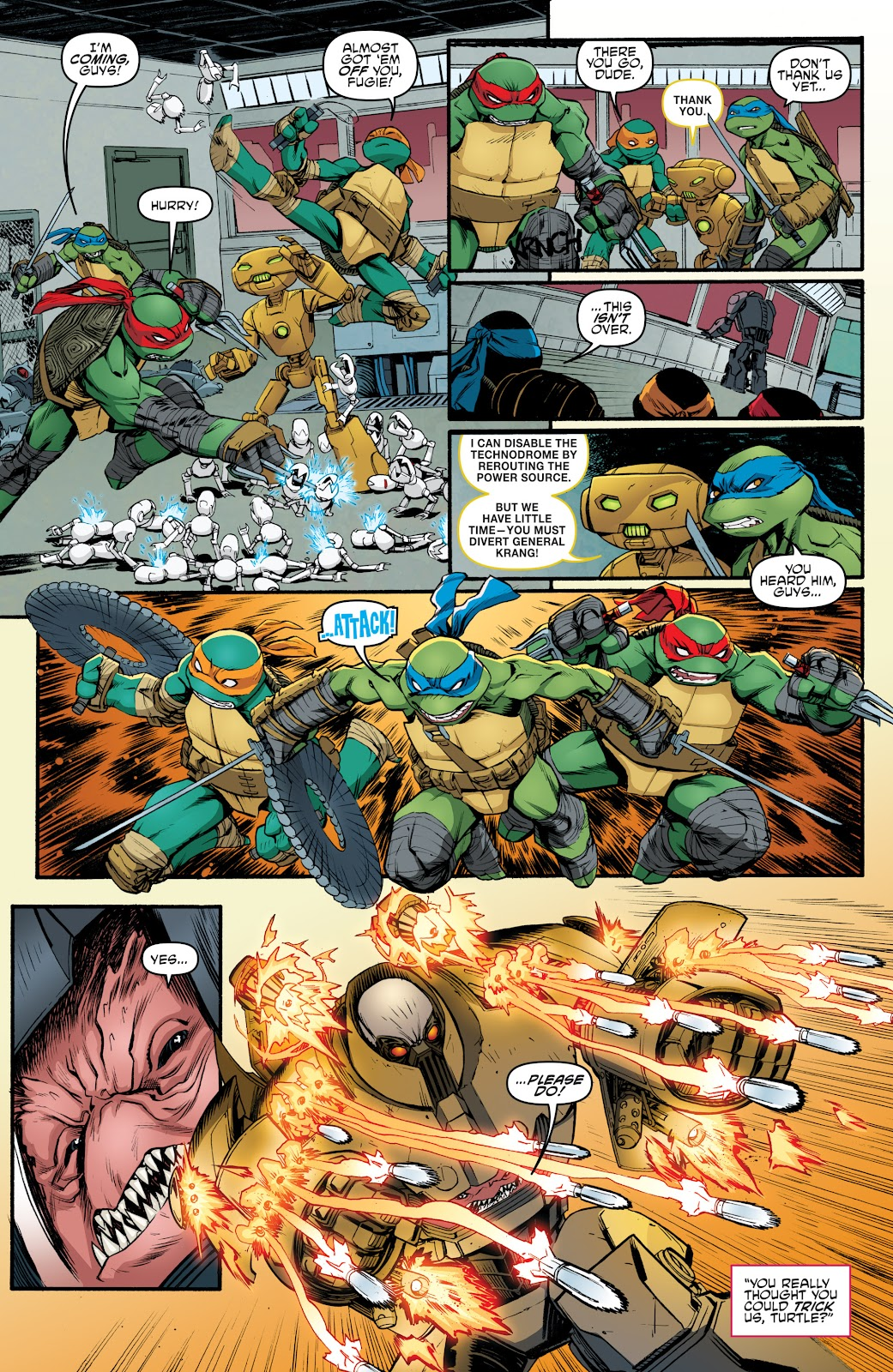 Read online Teenage Mutant Ninja Turtles: The IDW Collection comic -  Issue # TPB 5 (Part 4) - 35