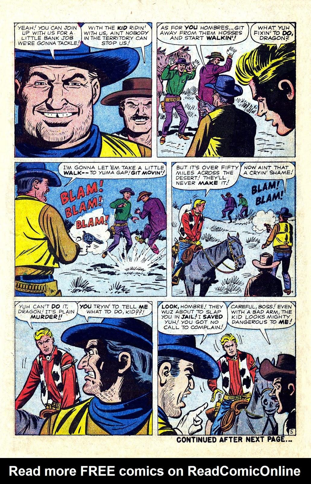 Gunsmoke Western issue 75 - Page 7