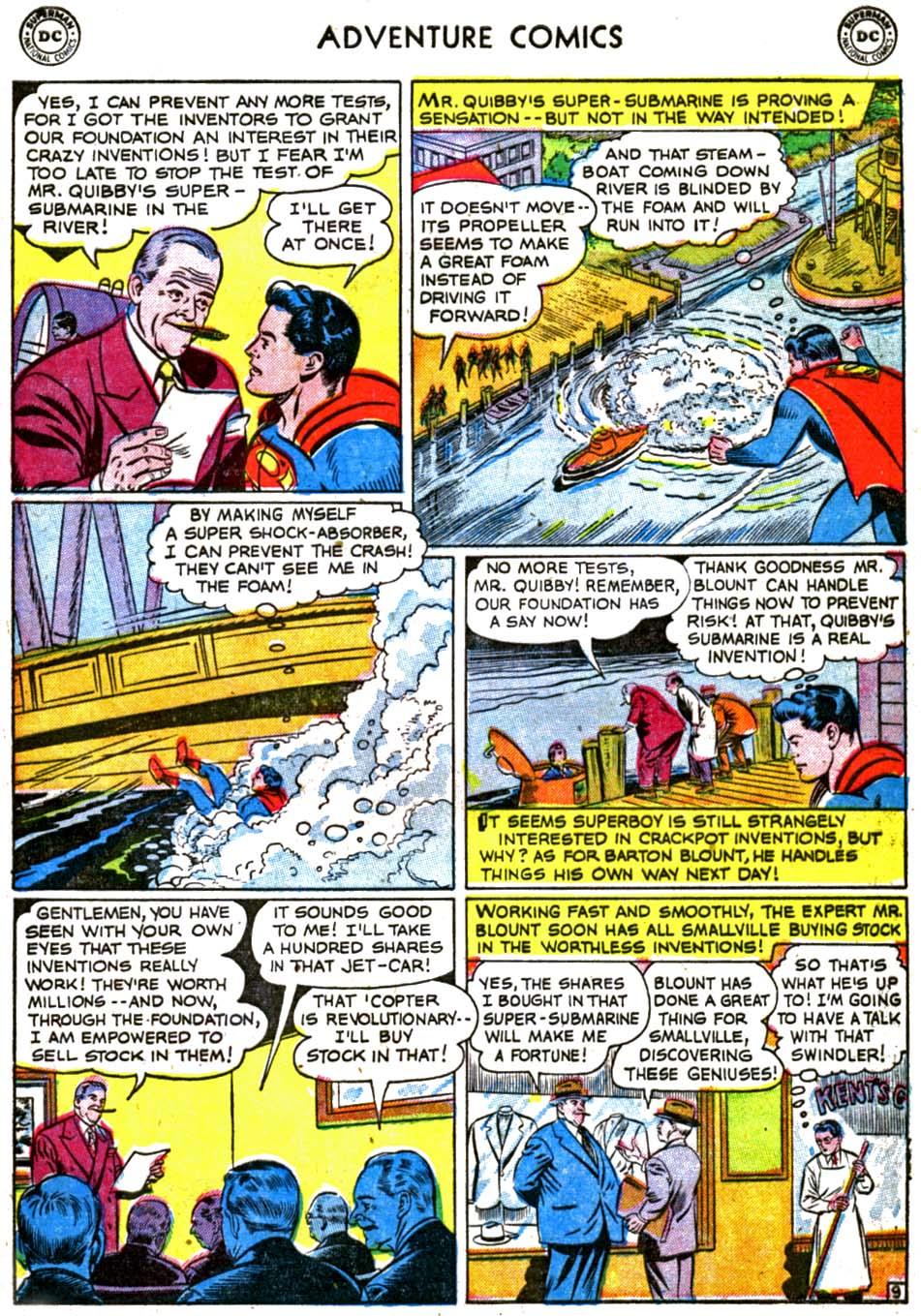 Read online Adventure Comics (1938) comic -  Issue #179 - 11