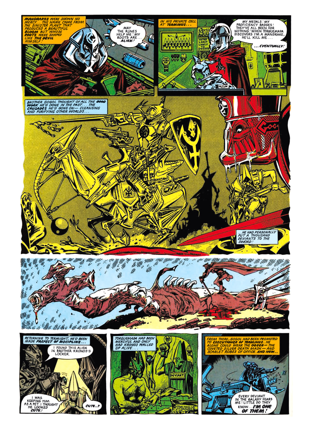 Read online Nemesis The Warlock comic -  Issue # TPB Deviant Edition - 44