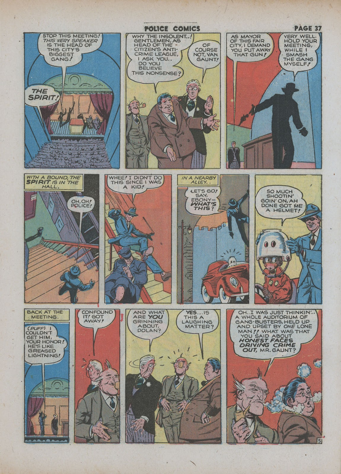 Police Comics issue 18 - Page 39